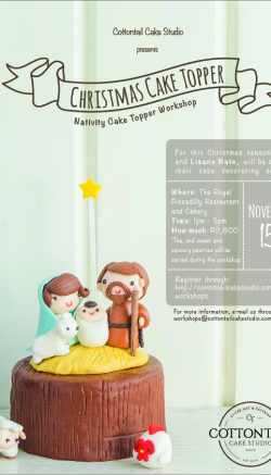 Nativity Cake Topper