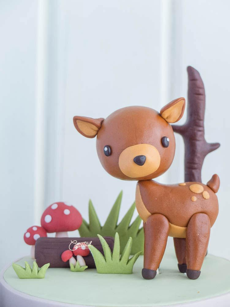 Deer Cake Topper Tutorial