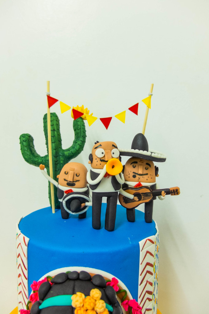 Mexican Fiesta Cottontail Cake Studio Sugar Art