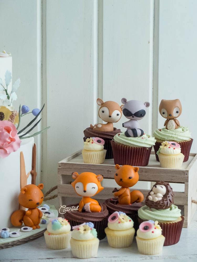 Cake Toppers Woodland Animals