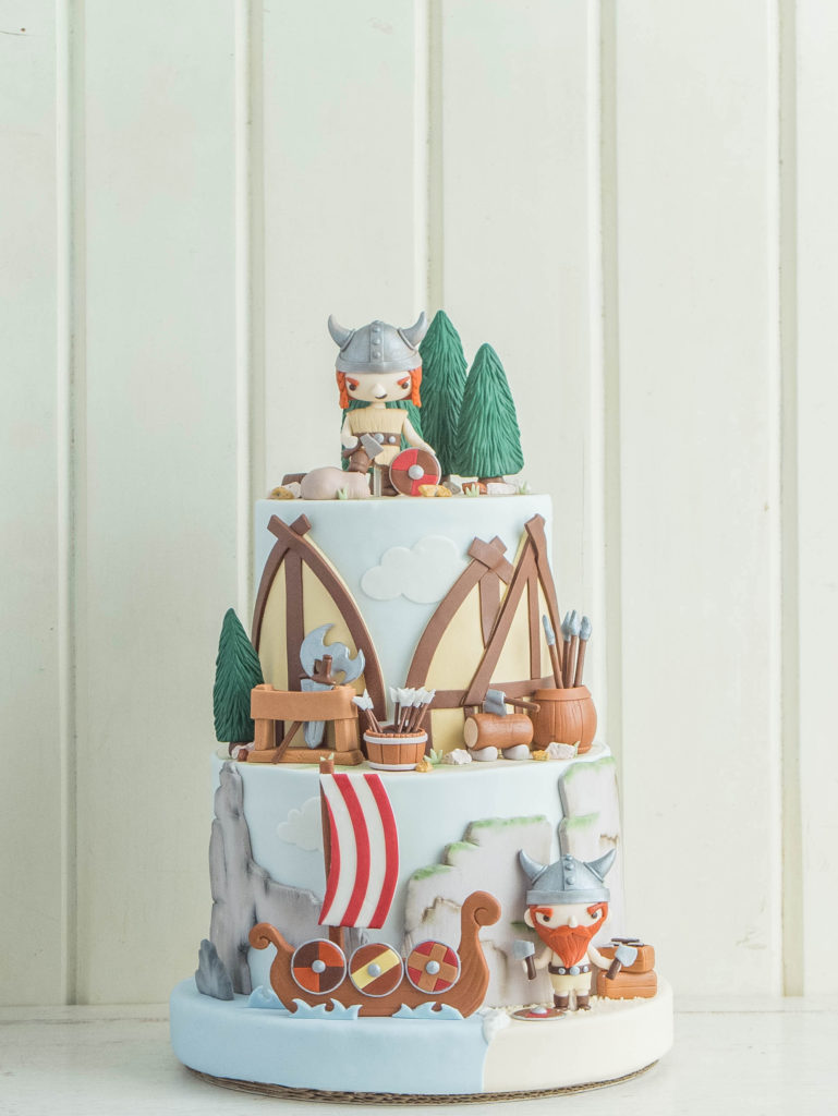 Vikings And Sinister Sweets Cottontail Cake Studio