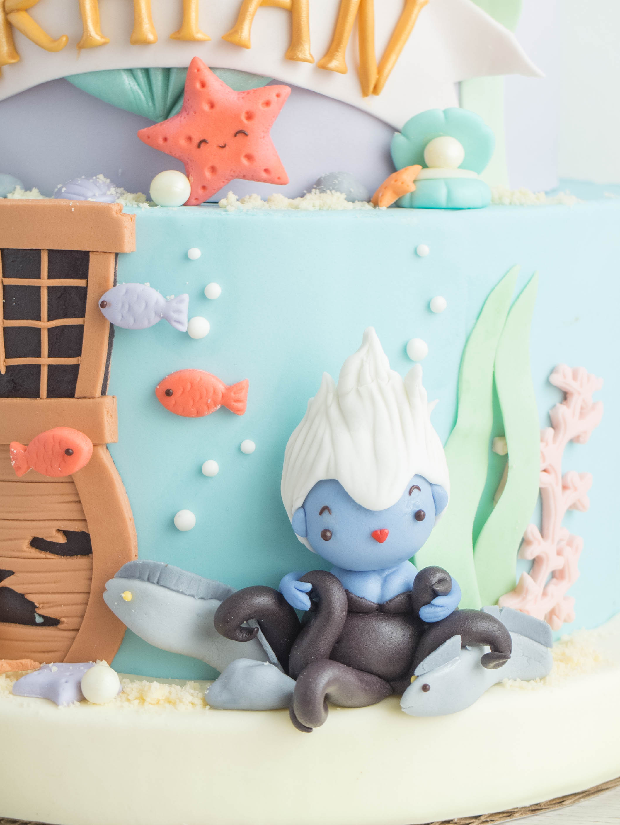 CTCakes - Disney Little Mermaid-2