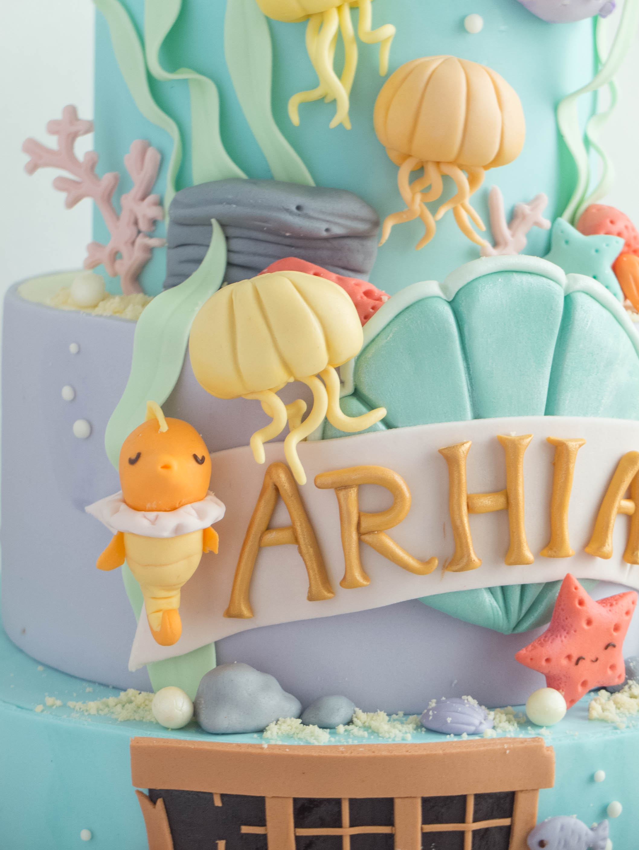 CTCakes - Disney Little Mermaid-6