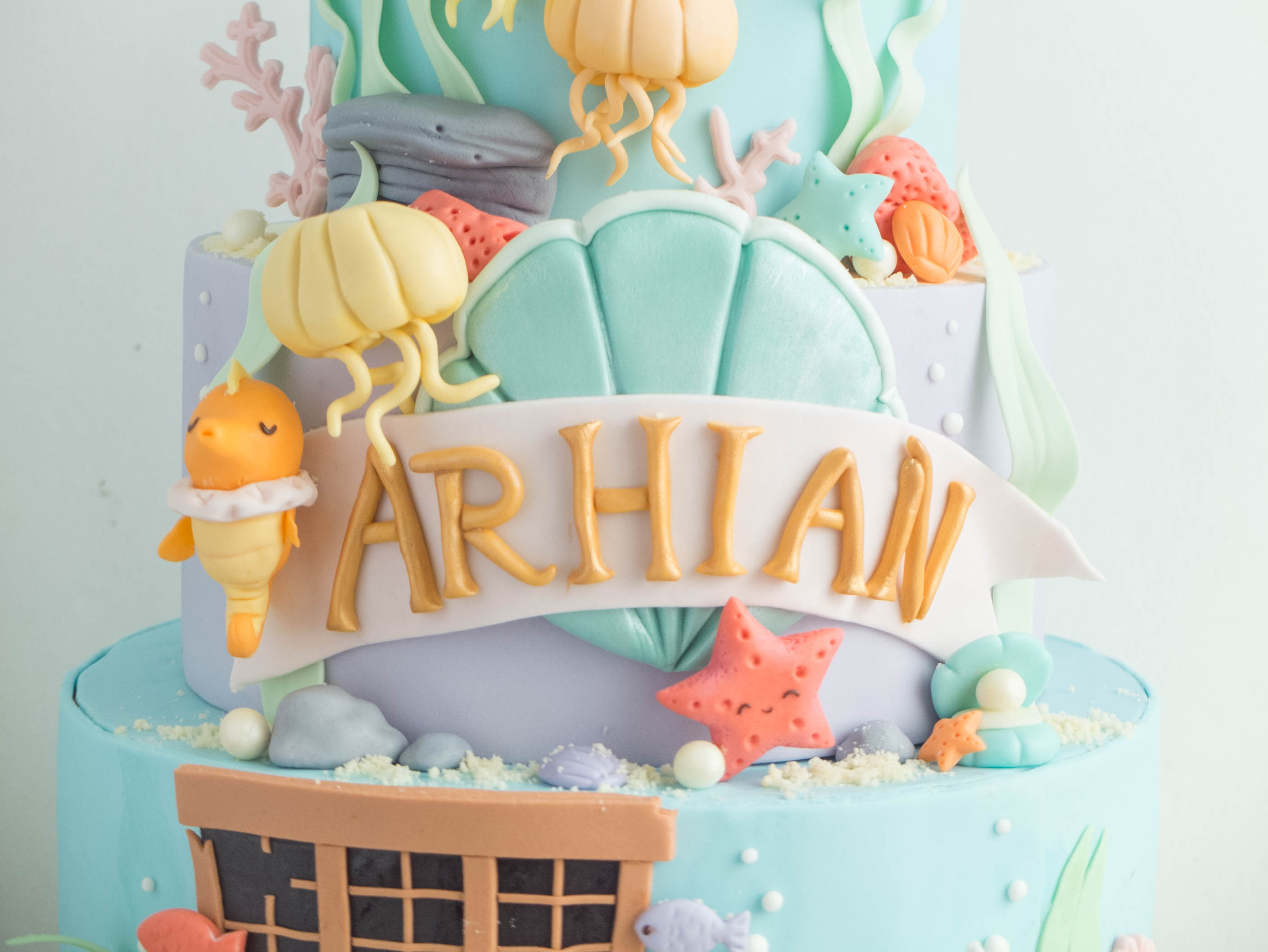 CTCakes - Disney Little Mermaid-7