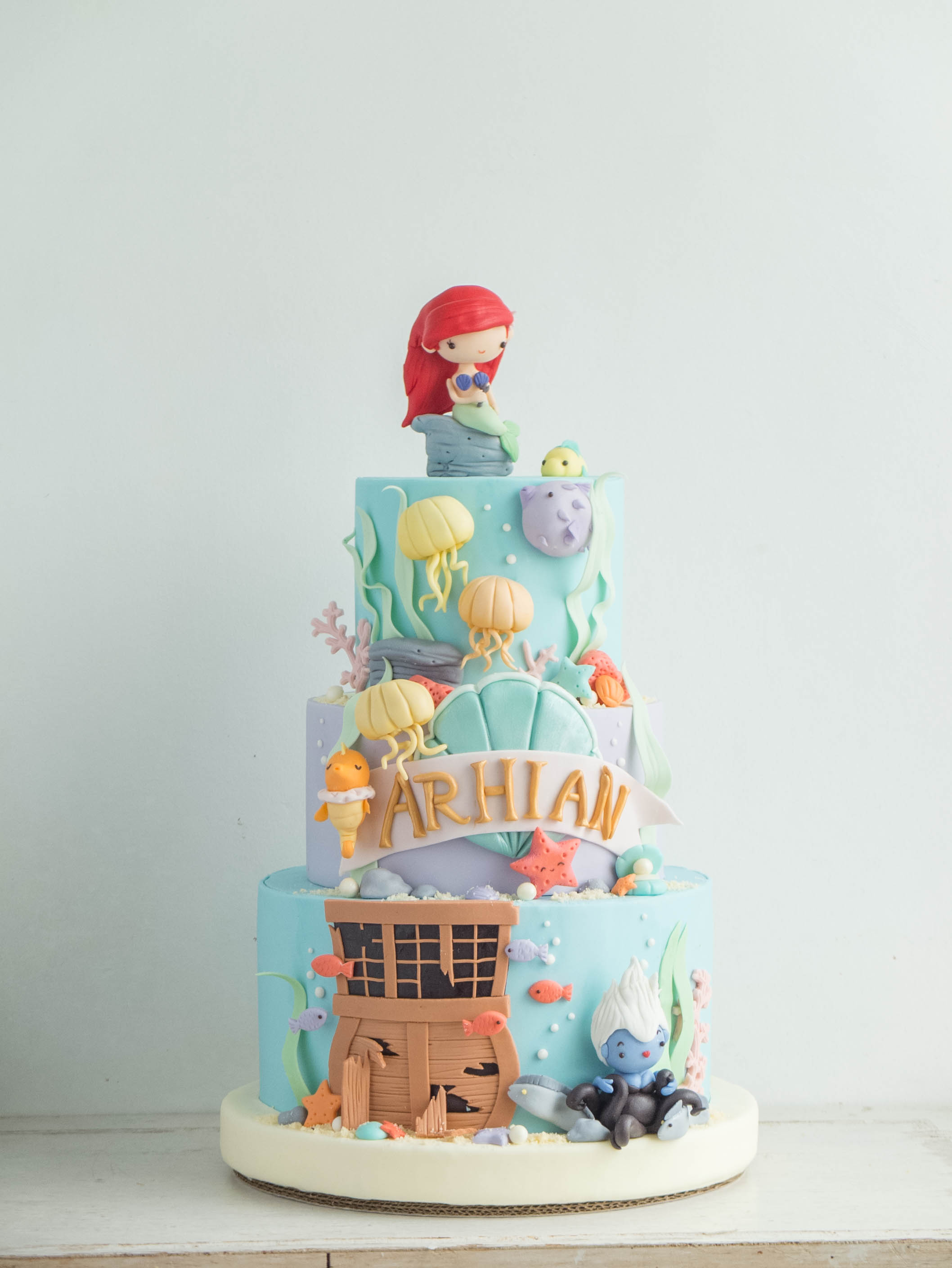 CTCakes - Disney Little Mermaid