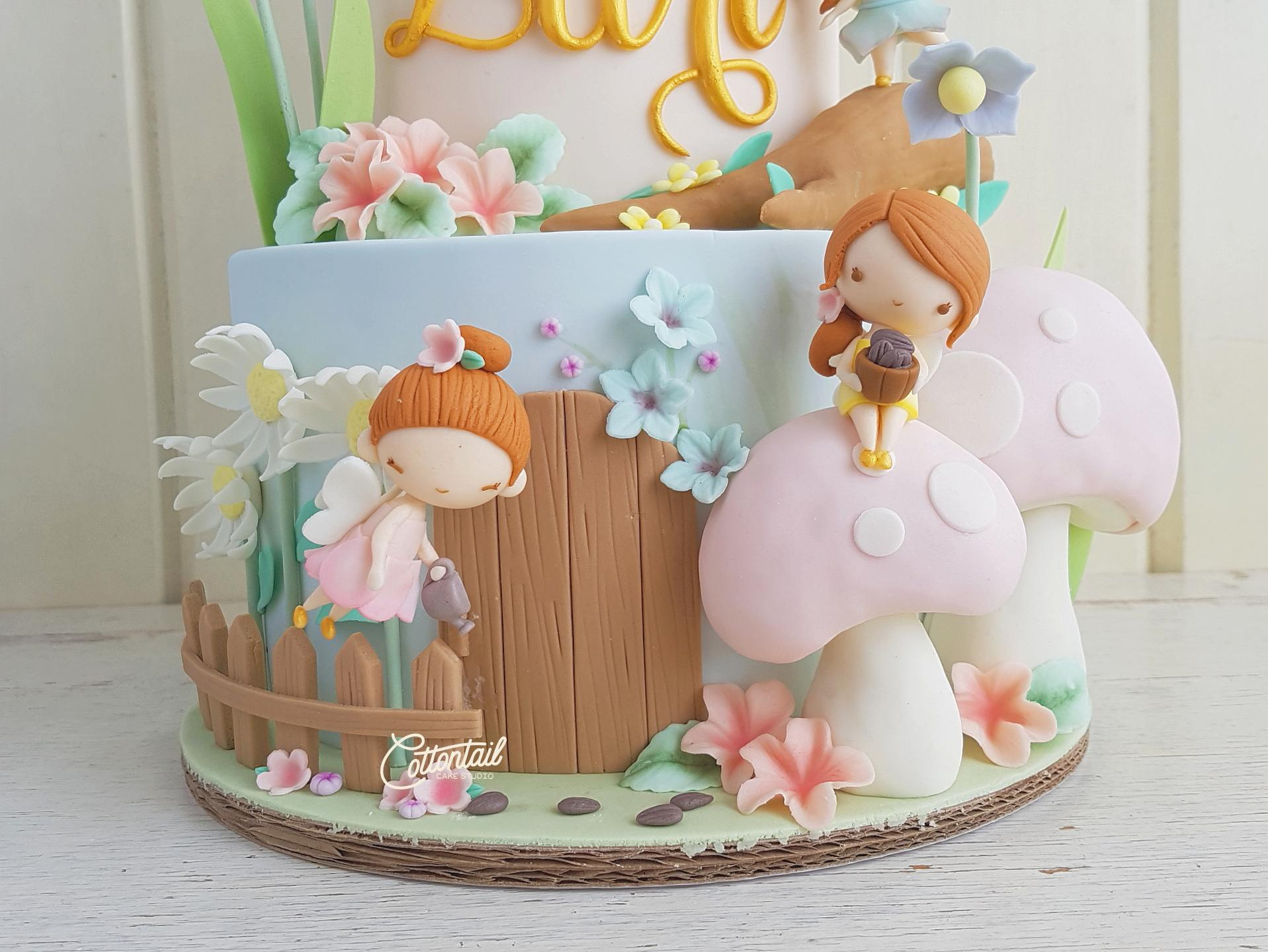 Cake Art Studio Atherstone : We Do Believe in Fairies. We do! We do! Cottontail Cake ...