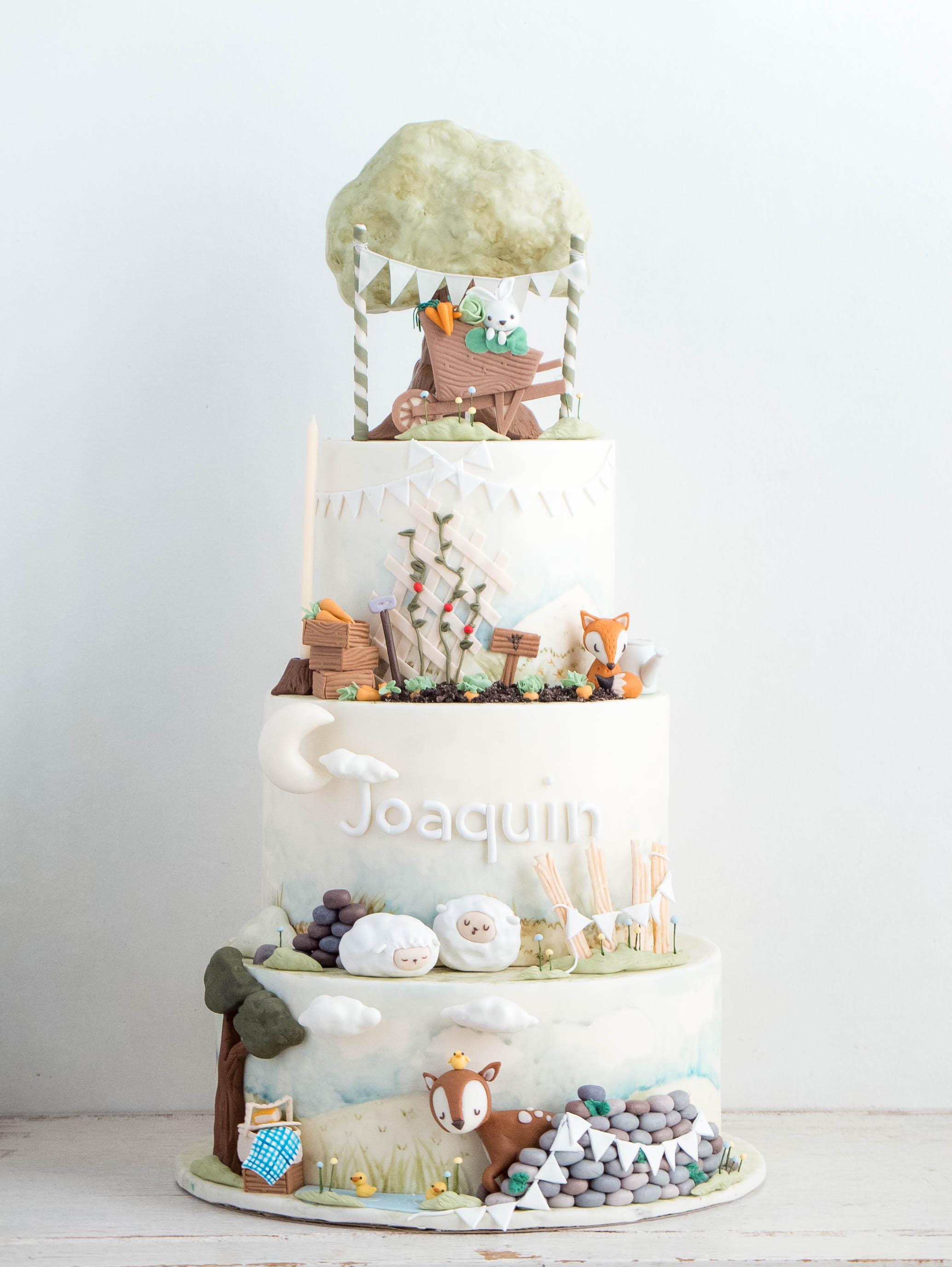 fox Archives | Cottontail Cake Studio | Sugar Art ...