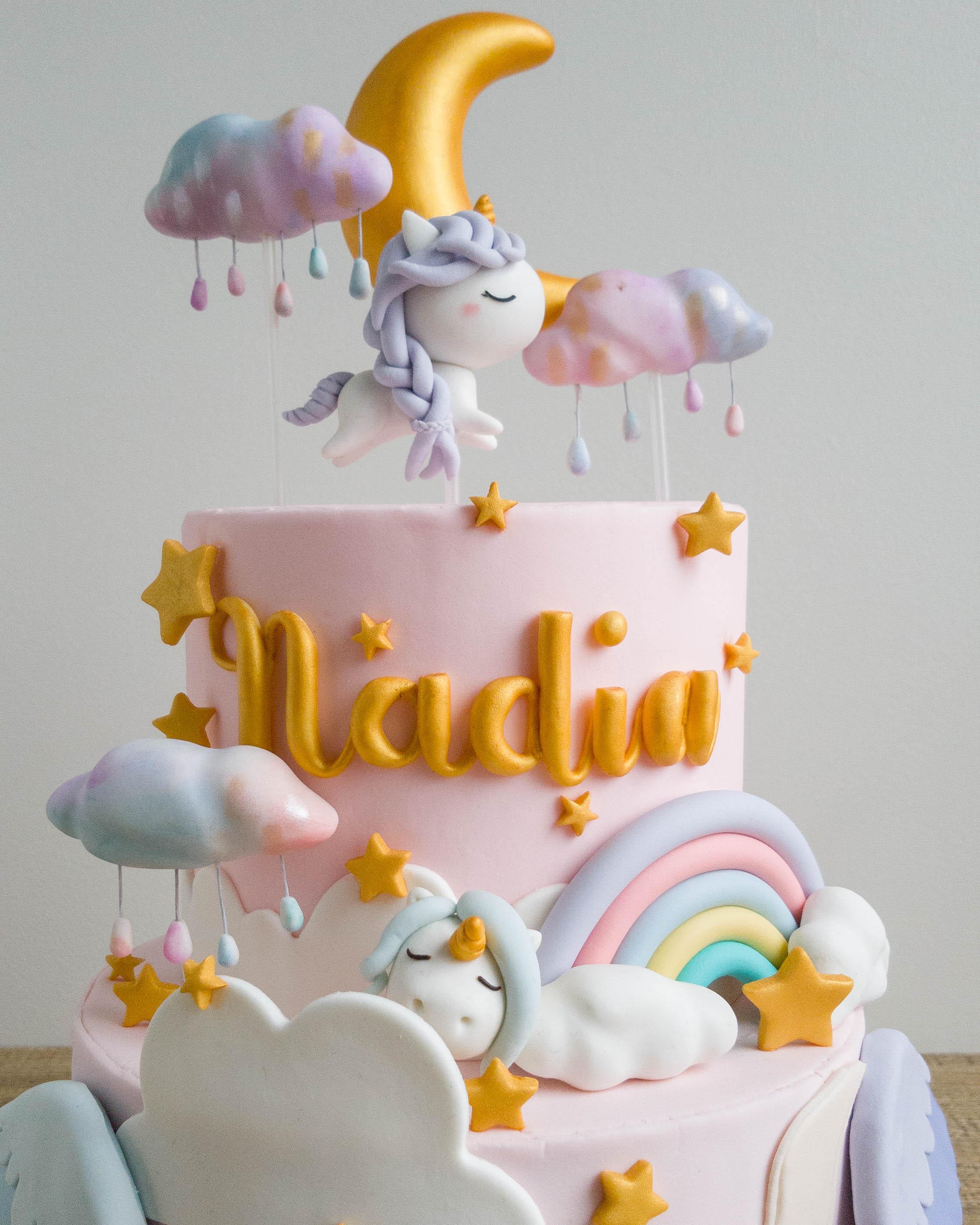 Unicorn Dreams Cottontail Cake Studio Sugar Art